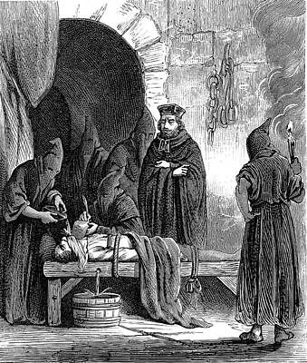 Spanish Inquisition Poster by Collection Abecasis