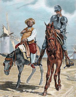 Spanish Literature Poster by Prisma Archivo