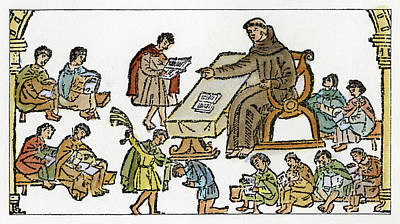 Spanish Missionary, 1612 Poster by Granger