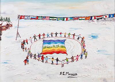 Speranza Di Pace Poster by Loredana Messina