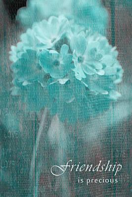 Sphere Floral - Gr13tq - Frienship Poster
