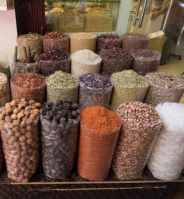 Spice Market, Dubai, United Arab Poster by Panoramic Images