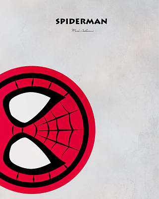 Spiderman 6 Poster by Mark Ashkenazi