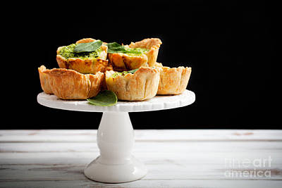Spinach Pie Poster by Kati Molin