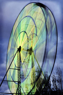 Spinning Wheel Poster by Kelley King