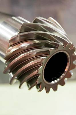 Spiral Bevel Gear Poster by Mark Williamson