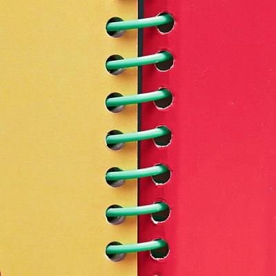 Spiral Bound Book Poster