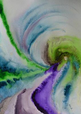 Spiral Dance Poster by Beverley Harper Tinsley