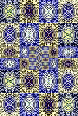 Spiral Design 3 Poster by Sarah Loft