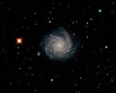 Spiral Galaxy Ngc 1232 Poster