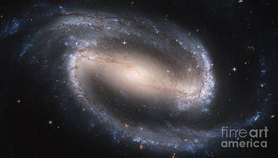 Spiral Galaxy Ngc 1300 Poster by Science Source