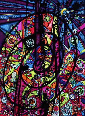 Spiral Night Poster