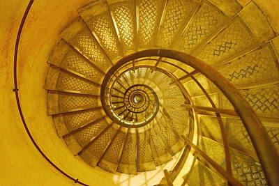 Spiral Staircase Poster by Don Hammond