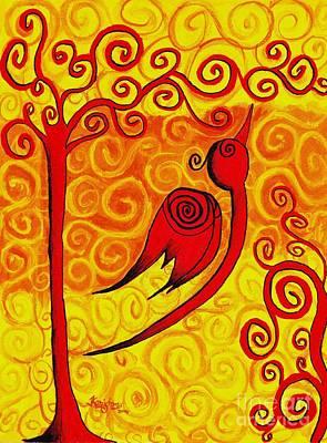 Spirals Poster by KarishmaticArt -  Karishma Desai