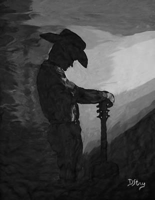 Spirit Of A Cowboy Poster