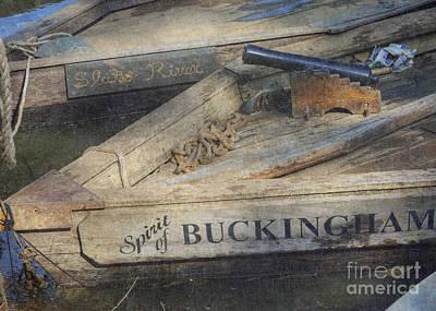 Spirit Of Buckingham Poster by Pete Hellmann