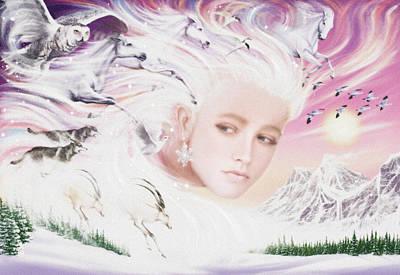 Spirit Of Winter Poster by Garry Walton