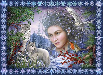 Spirit Of Winter Variant I Poster