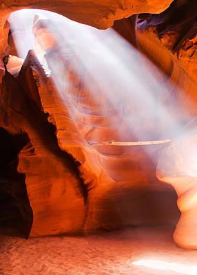 Spiritual Canyon - Upper Antelope Canyon Poster