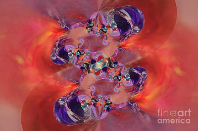 Poster featuring the digital art Spiritual Dna by Margie Chapman