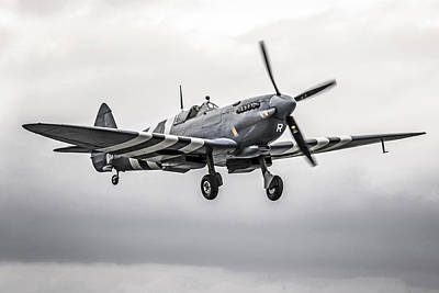 Spitfire Coming Home Poster