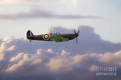 Spitfire Mk1 N3200  Poster by J Biggadike