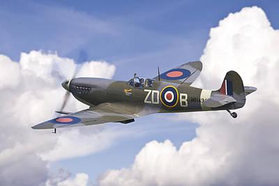 Spitfire Pass Poster