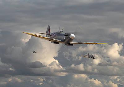 Spitfire - Strike Force Poster