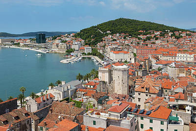 Split, Dalmatian Coast, Croatia. High Poster