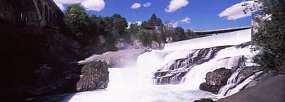 Spokane Falls At Spokane River Poster by Panoramic Images