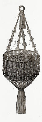 Sponge-bag, 19th Century Fashion Poster