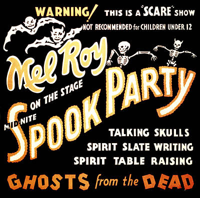 Spook Party 2 Poster by Jennifer Rondinelli Reilly - Fine Art Photography