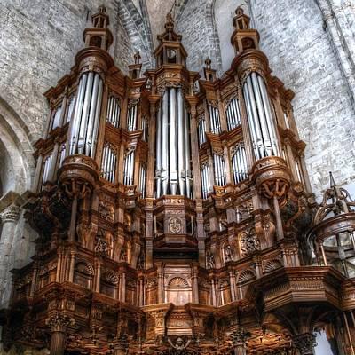 Spooky Organ Poster
