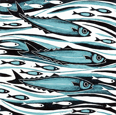 Sprats Poster by Nat Morley