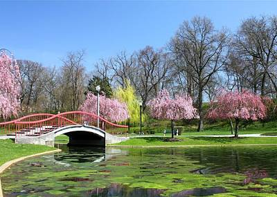 Spring At Italian Lake Poster
