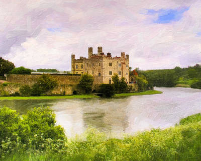 Spring At Leeds Castle Poster