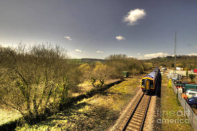 Spring At Seaton Junction  Poster by Rob Hawkins