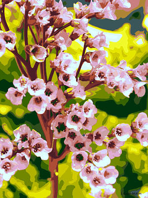 Spring Blossoms Warm Poster by Jo-Anne Gazo-McKim