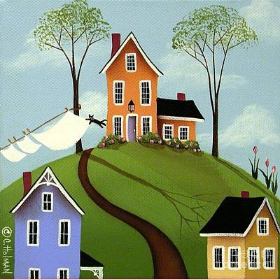 Spring Breeze Poster by Catherine Holman