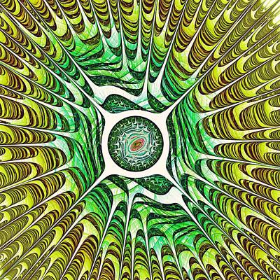 Spring Dragon Eye Poster by Anastasiya Malakhova