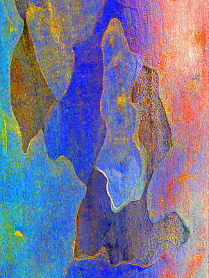 Spring Eucalypt Abstract 10 Poster by Margaret Saheed