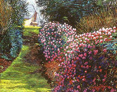 Spring Flower Fantasy Poster by David Lloyd Glover