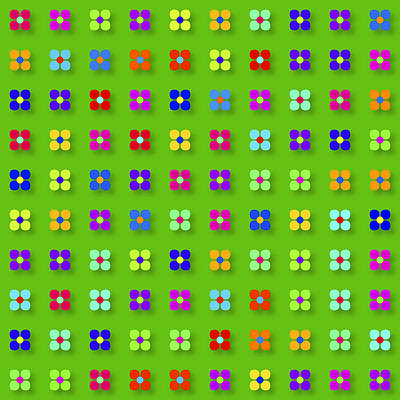 Spring Flower Panel Poster by Daniel Hagerman