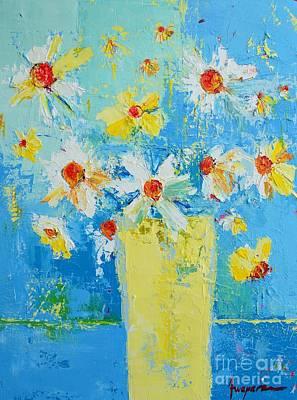 Spring Flowers Daisies Poster by Patricia Awapara