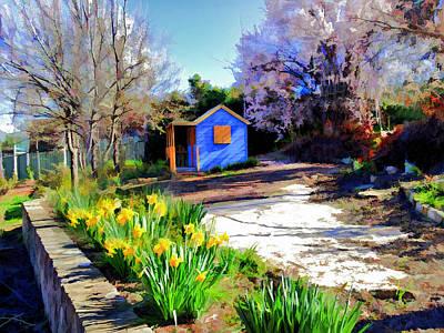 Spring Garden Poster by Paul Svensen