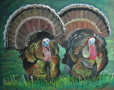Spring Gobblers Poster