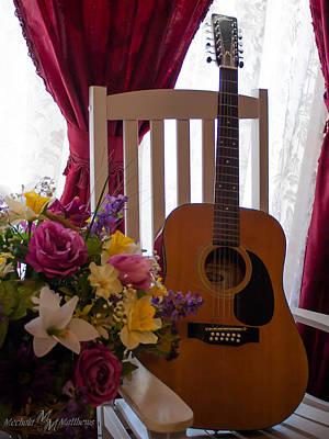 Spring Guitar Poster