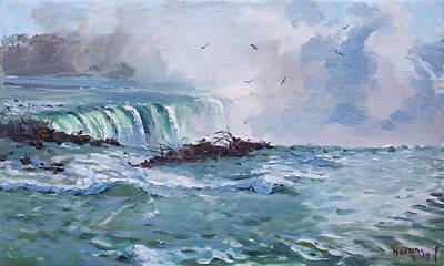 Spring In Niagara Falls Poster by Ylli Haruni