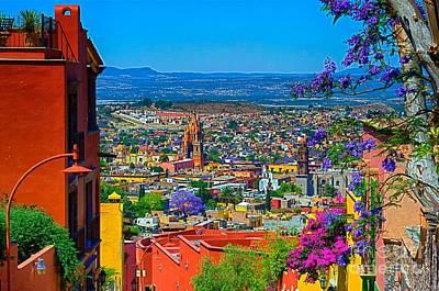 Spring In San Miguel De Allende Poster