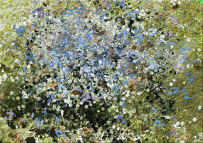Spring Is Here - Abstract Poster by Georgiana Romanovna